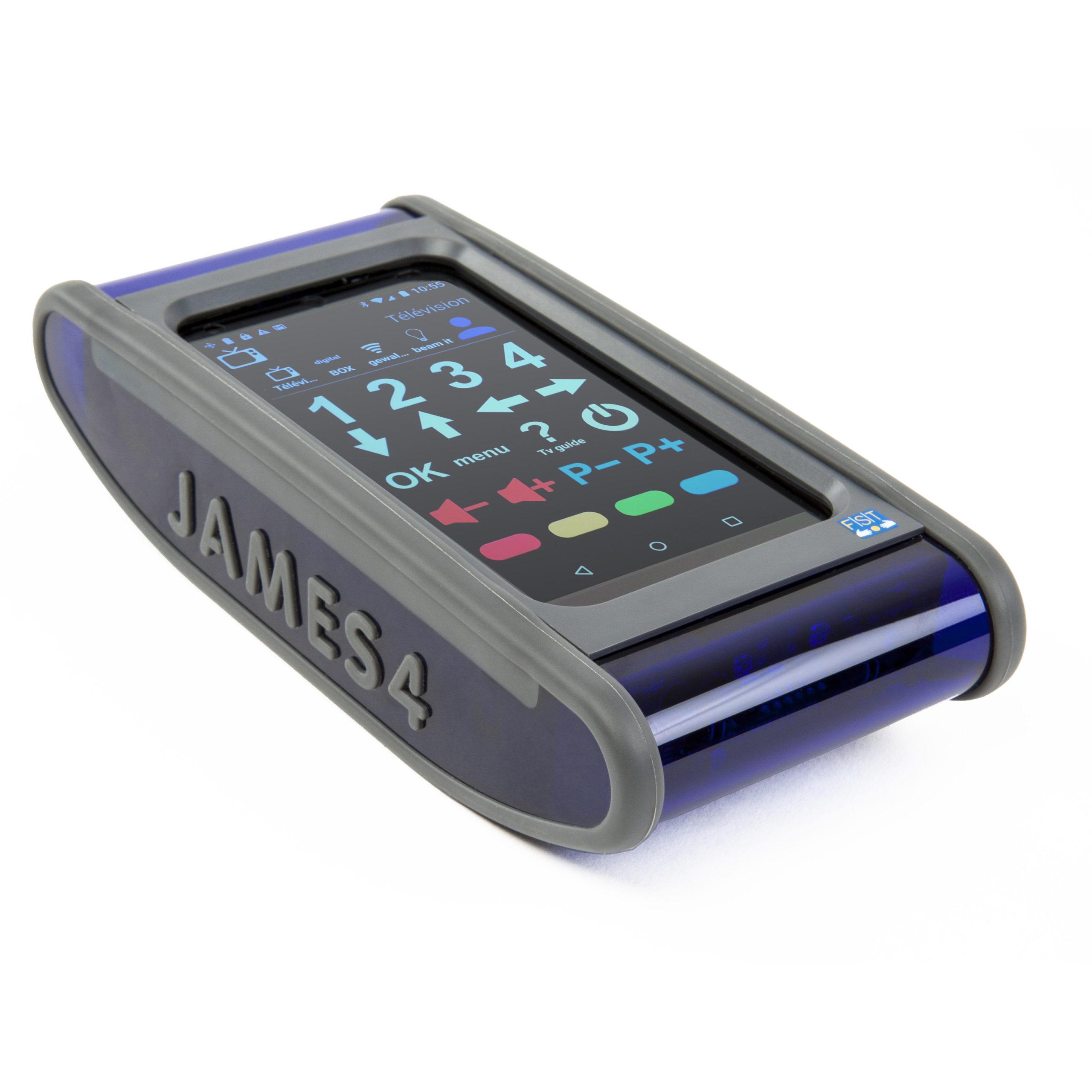 La télécommande universelle James 4