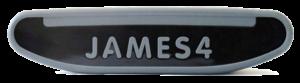 Plaquette avec l'inscription James 4