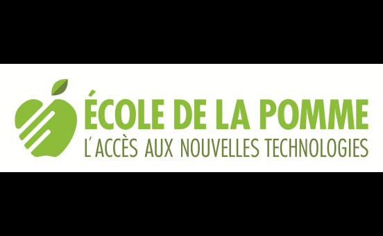 logo école de la pomme L'accès aux nouvelles technologies