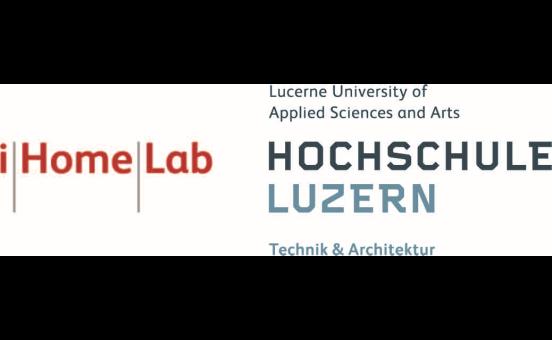 logo i Home Lab, Hochschule Luzern