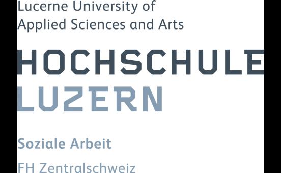 Logo von der Hochschule Luzern, soziale Arbeit
