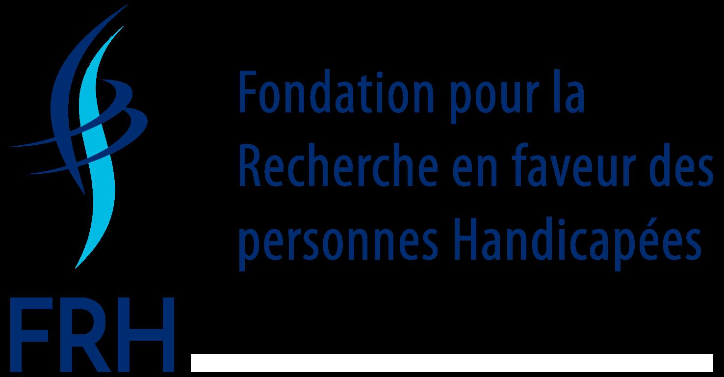 logo della FRH Fondation pour la Recherche en faveur des personnes Handicapées